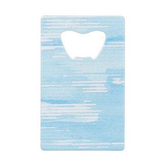 Arrière - plan bleu abstrait d'aquarelle, texture.