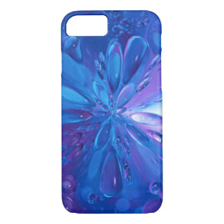 Arrière-plan bleu coque iPhone 7