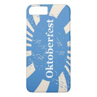 Arrière - plan bleu et blanc coque iPhone 7 plus