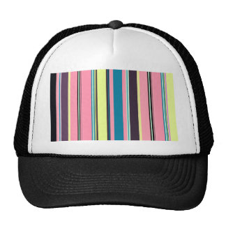 Arrière - plan coloré sans couture de motif de casquettes