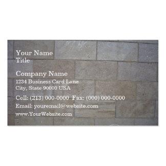 Arrière - plan concret de mur de briques cartes de visite professionnelles