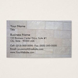 Arrière - plan concret de mur de briques cartes de visite
