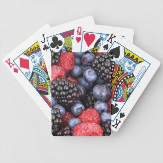 arrière - plan de baies jeu de cartes