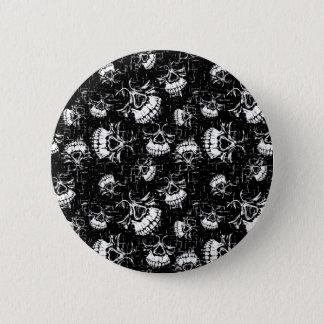 arrière - plan de crâne badges
