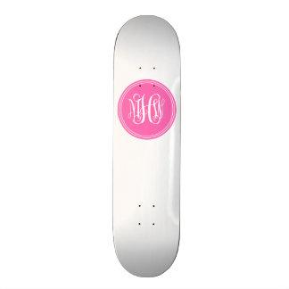 Arrière - plan de do-it-yourself, monogramme de skateboard old school 18,1 cm