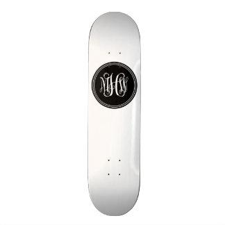 Arrière - plan de do-it-yourself, monogramme noir skateboard  20 cm