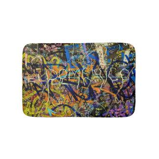 Arrière - plan de graffiti tapis de bain