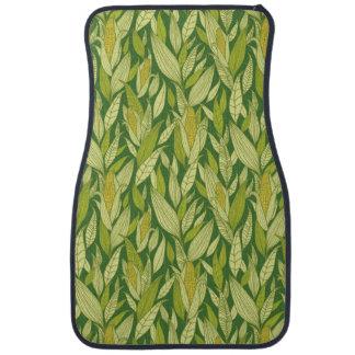 Arrière - plan de motif de plantes de maïs tapis de sol