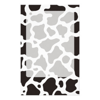Arrière - plan de motif de vache motifs pour papier à lettre