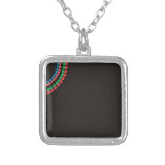 Arrière - plan de noir de collier de Maasai