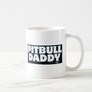 Arrière - plan de noir de PAPA de PITBULL Mug