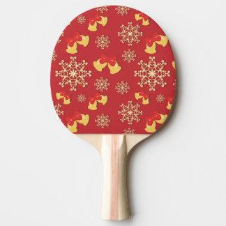 Arrière - plan de nouvelle année et de Noël Raquette De Ping Pong