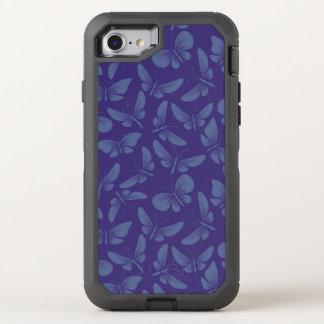 arrière - plan de papillons de mite de nuit coque otterbox defender pour iPhone 7