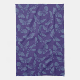 arrière - plan de papillons de mite de nuit serviette pour les mains