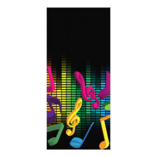 Arrière - plan de partie de musique doubles cartes