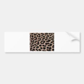 Arrière - plan de peau de léopard autocollant de voiture