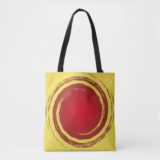 Arrière - plan de tourbillonnement rouge foncé et sac