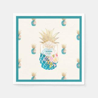 Arrière - plan des ananas de PixDezines Serviette Jetable