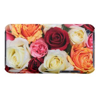 Arrière - plan des fleurs roses étui barely there iPod