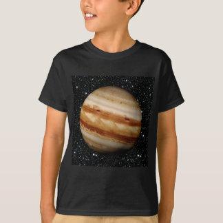 Arrière - plan d'étoile de JUPITER v.4 de PLANÈTE T-shirt