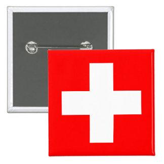 Arrière - plan Editable, le drapeau de la Suisse Badges