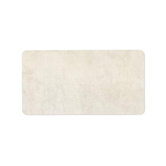 Arrière - plan en ivoire antique de papier vintage étiquette d'adresse