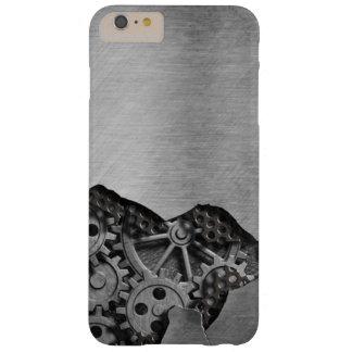 Arrière - plan en métal avec des dommages coque barely there iPhone 6 plus