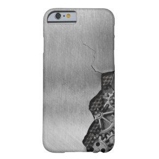 Arrière - plan en métal avec des dommages coque iPhone 6 barely there