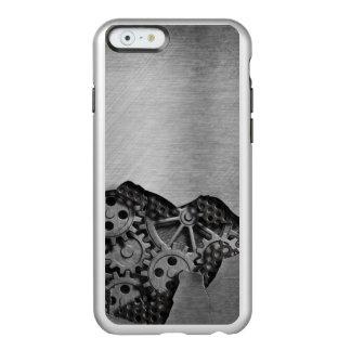 Arrière - plan en métal avec des dommages coque iPhone 6 incipio feather® shine