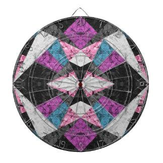Arrière - plan géométrique de marbre G438 de cible Jeu De Fléchettes