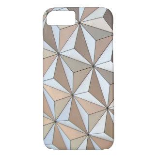 Arrière - plan géométrique de Pentakis Coque iPhone 7