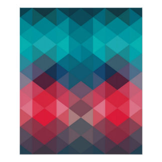 Arrière - plan géométrique de spectre posters
