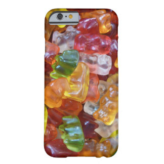 Arrière - plan gommeux d'ours coque barely there iPhone 6
