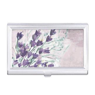 Arrière - plan grunge d'aquarelle avec des cloches étuis pour cartes de visite