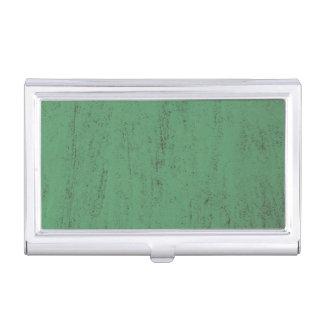 arrière - plan grunge de texture de peinture verte boîtier pour cartes de visite