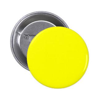 Arrière - plan jaune personnalisable pin's