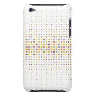 Arrière - plan multicolore de point coques iPod touch