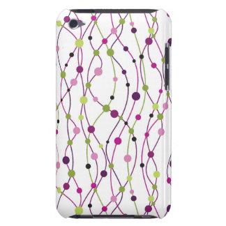 Arrière - plan multicolore de point étui barely there iPod