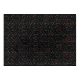 Arrière - plan noir de briques cartes de visite professionnelles