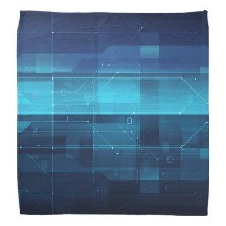 Arrière - plan numérique de pointe bandanas