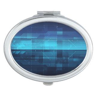 Arrière - plan numérique de pointe miroirs à maquillage