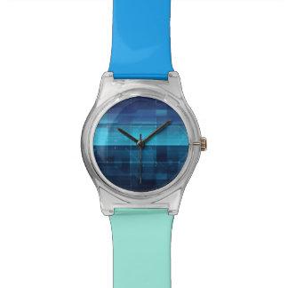Arrière - plan numérique de pointe montres bracelet
