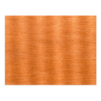 Arrière - plan onduleux de cuivre poli de texture carte postale