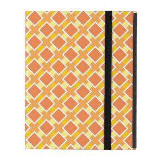 Arrière - plan orange ensoleillé rétro étui iPad
