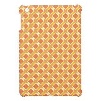 Arrière - plan orange ensoleillé rétro étuis iPad mini