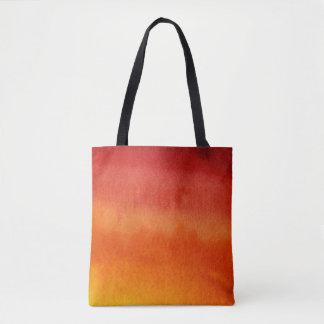 Arrière - plan peint à la main d'aquarelle sac