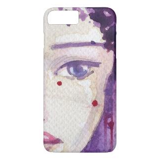 Arrière - plan peint d'aquarelle coque iPhone 7 plus