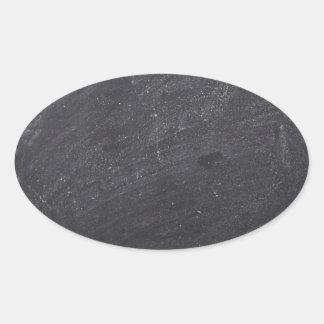 Arrière - plan personnalisable de tableau sticker ovale