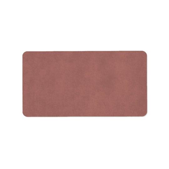 Arrière - plan rose de papier parcheminé étiquettes d'adresse