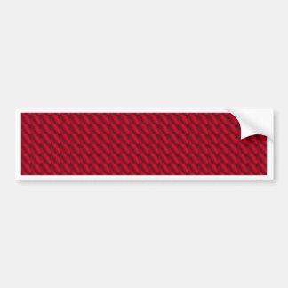 Arrière - plan rouge de pile autocollant pour voiture